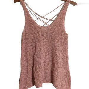 American Eagle Outfitters Knit Cross Back Top